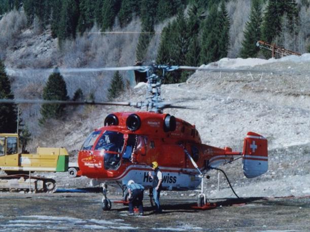 Estrazione con elicottero